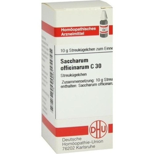 SACCHARUM OFF.C30, 10 G, Dhu-Arzneimittel GmbH & Co. KG