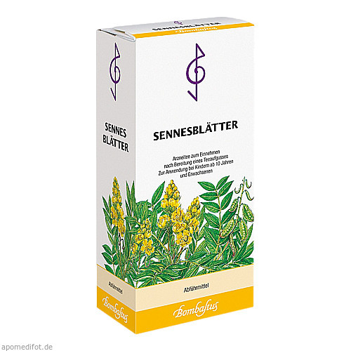 Sennesblätter, 30 G, Bombastus-Werke AG