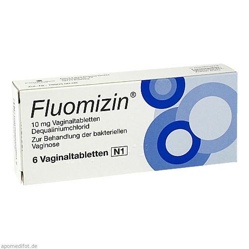 Fluomizin 10mg Vaginaltabletten, 6 ST, Pierre Fabre Pharma GmbH