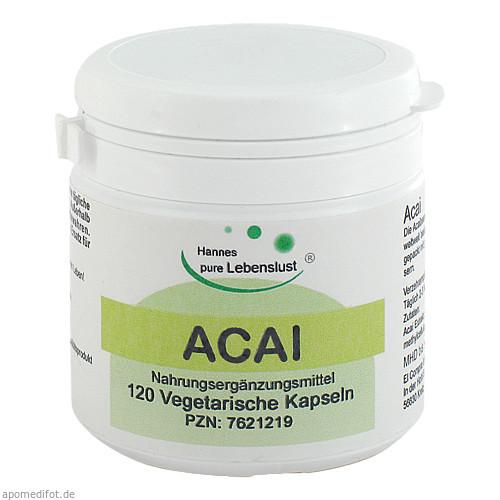 Acai, 120 ST, G & M Naturwaren Import GmbH & Co. KG