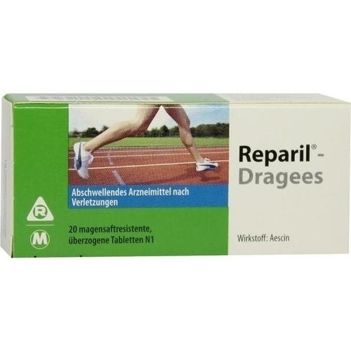 REPARIL-Dragees magensaftresistente Tabletten, 20 ST, MEDA Pharma GmbH & Co.KG