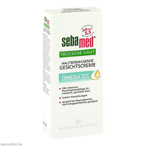 sebamed Trockene Haut Omega 12% Gesichtscreme, 50 ML, Sebapharma GmbH & Co. KG