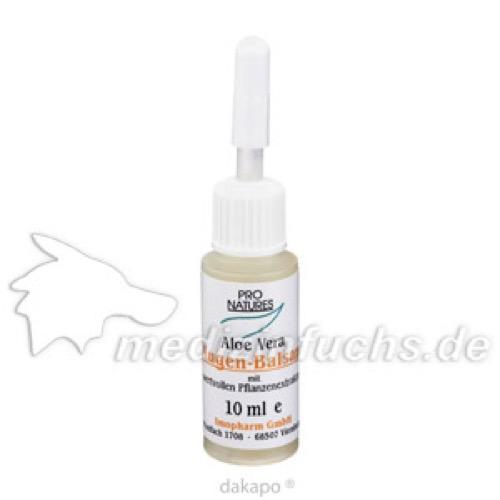 ALOE VERA AUGENBAL PRO NAT, 10 ML, Imopharm Pharm.Handelsges.Mbh