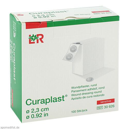 Curaplast Sensitiv rund, 100 ST, Lohmann & Rauscher GmbH & Co. KG