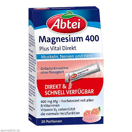 ABTEI Magnesium 400 + Vitamin B Komplex, 20 ST, Omega Pharma Deutschland GmbH
