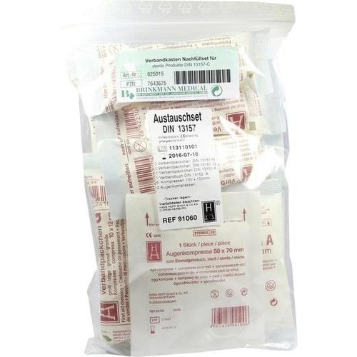 Verbandkasten Nachfüllset f.sterile Prod.13157-C, 1 ST, Brinkmann Medical Ein Unternehmen der Dr. Junghans Medical GmbH