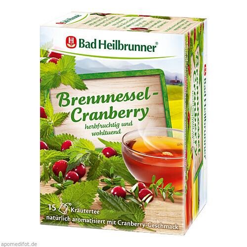 Bad Heilbrunner Brennessel-Cranberry Tee, 15X1.8 G, Bad Heilbrunner Naturheilmittel GmbH & Co. KG