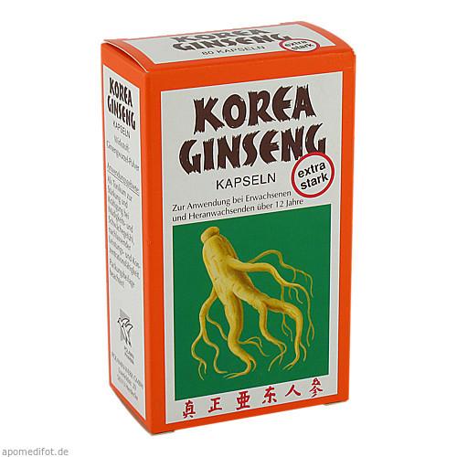 Korea Ginseng extra stark, 80 ST, Dr.Poehlmann & Co. GmbH