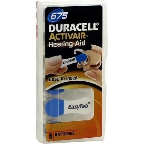 Batterie für Hörgeräte Duracell 675, 6 ST, Vielstedter Elektronik