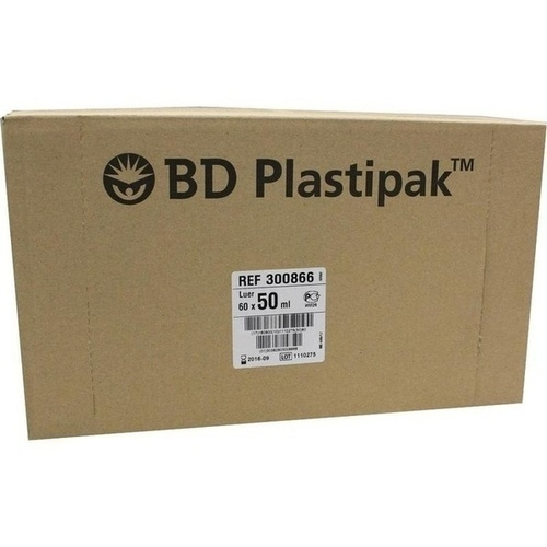 BD PLASTIPAK LUER EXZENTR, 60X50 ML, Becton Dickinson GmbH