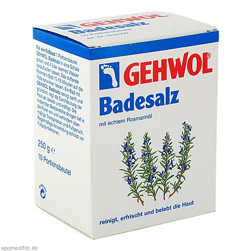 GEHWOL Rosmarin Badesalz Portionsbeutel, 10X25 G, Eduard Gerlach GmbH