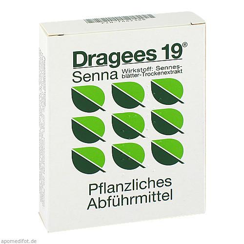Dragees 19 Senna, 28 ST, Med Pharma Service GmbH
