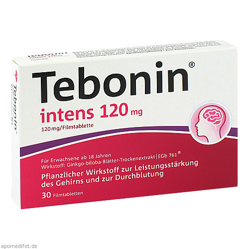 Tebonin intens 120mg, 30 ST, Dr.Willmar Schwabe GmbH & Co. KG