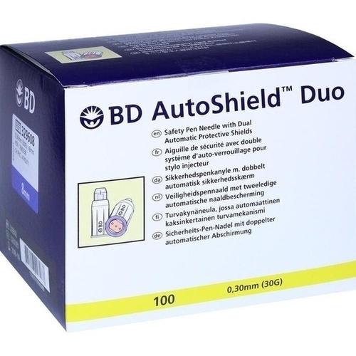 BD AutoShield Duo Sicherheits-Pen-Nadel 8mm, 100 ST, Becton Dickinson GmbH
