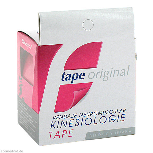KINESIOLOGIC tape original pink 5mx5cm, 1 ST, Unizell Medicare GmbH