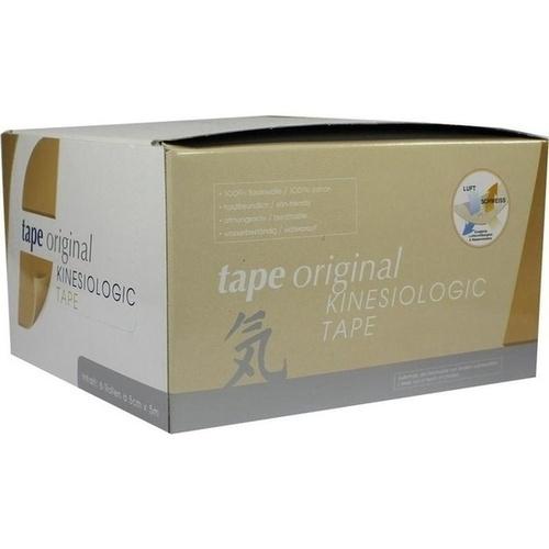 KINESIOLOGIC tape original beige 6er 5mx5cm, 6X1 ST, Unizell Medicare GmbH