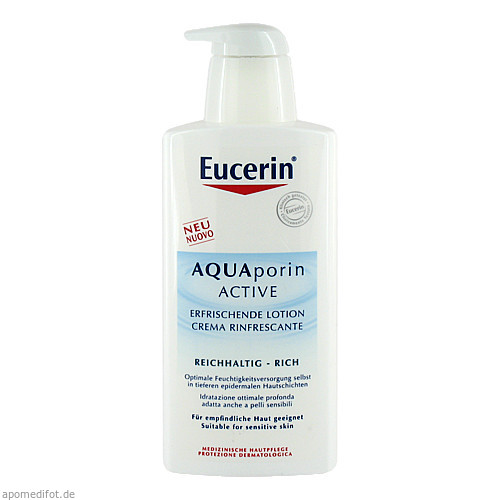 Eucerin AQUAporin ACTIVE Erfrisch.Lotion Reichhal., 400 ML, Beiersdorf AG Eucerin
