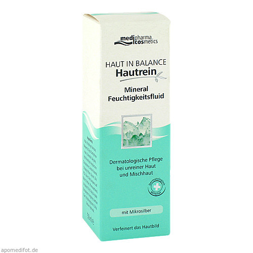 Haut in Balance Mineral Feuchtigkeitsfluid, 50 ML, Dr. Theiss Naturwaren GmbH