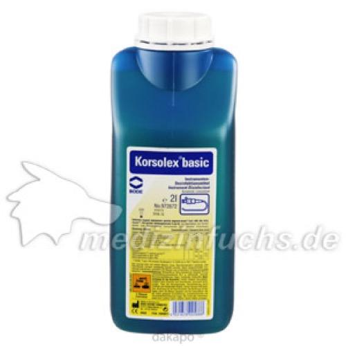 Korsolex basic Instrumenten-Desinfektion, 2 L, Paul Hartmann AG