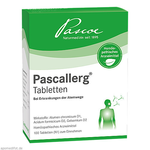 PASCALLERG Tabletten, 100 ST, PASCOE pharmazeutische Präparate GmbH