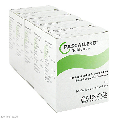 PASCALLERG, 500 ST, Pascoe Pharmazeutische Präparate GmbH