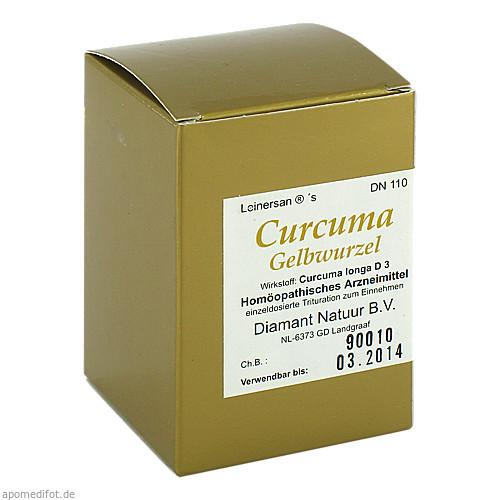 Curcuma Gelbwurzel, 60 ST, Diamant Natuur GmbH