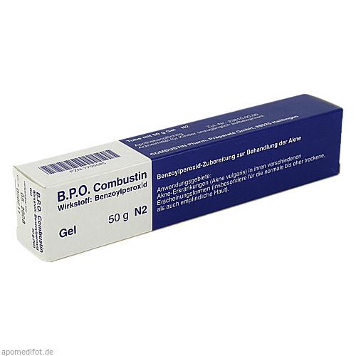B.P.O. Combustin Gel, 50 G, COMBUSTIN Pharmazeutische Präparate GmbH