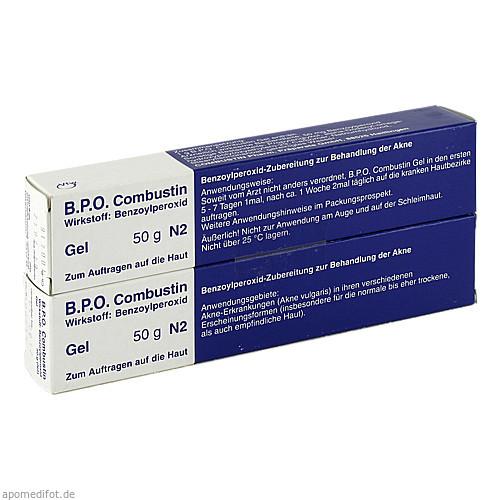 B.P.O. Combustin Gel, 100 G, Combustin Pharmaz. Präparate GmbH
