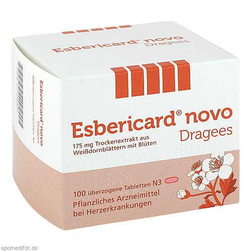 ESBERICARD Novo überzogene Tabletten, 100 ST, SCHAPER & BRÜMMER GmbH & Co. KG