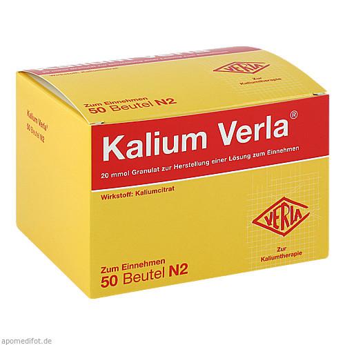 Kalium Verla Granulat, 50 ST, Verla-Pharm Arzneimittel GmbH & Co. KG