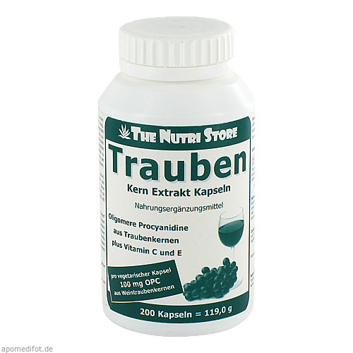 Trauben Extrakt OPC nativ, 200 ST, Hirundo Products