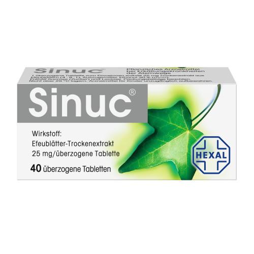 Sinuc, 40 ST, HEXAL AG