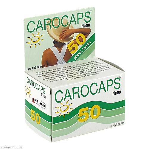 CAROCAPS 50 NATUR, 30 ST, Isar Pharm Austria Vertriebsges.Mbh