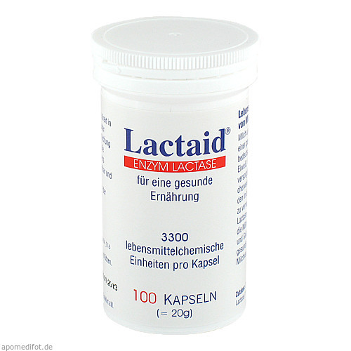 Lactaid, 100 ST, Pro Natura Gesellschaft Für Gesunde Ernährung mbH