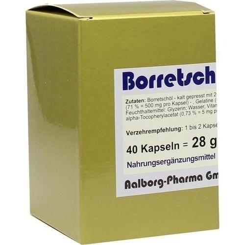 Borretsch Bioxera 500, 40 ST, Fbk-Pharma GmbH