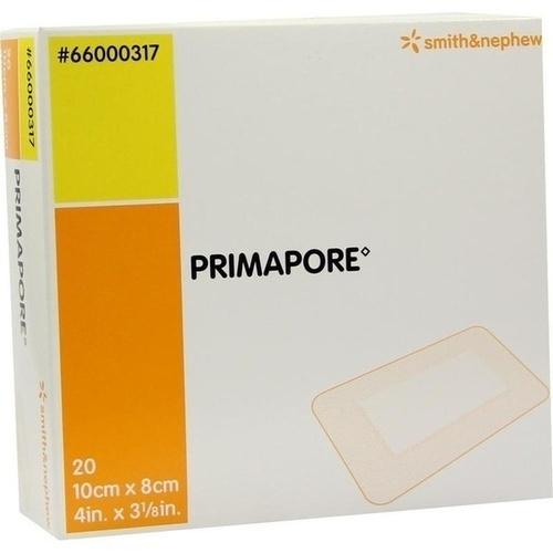 Primapore 10cmx8cm Wundverband steril 66000317, 20 ST, Smith & Nephew GmbH