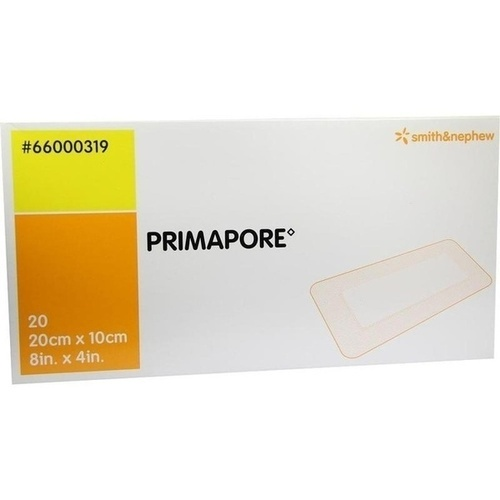 Primapore 20cmx10cm Wundverband steril 66000319, 20 ST, Smith & Nephew GmbH