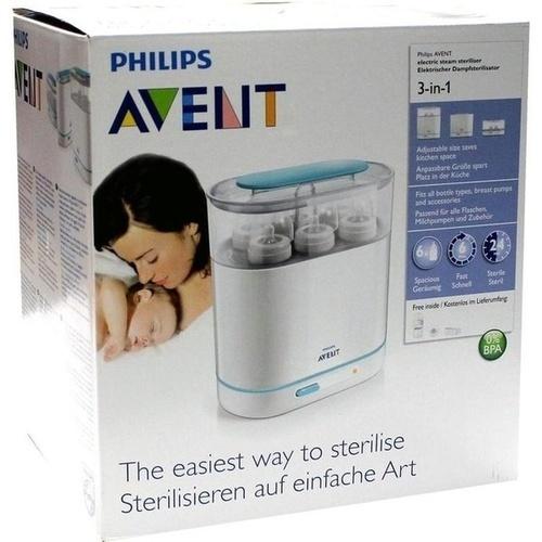 AVENT 3-in-1 Dampfsterilisator, 1 ST, Philips GmbH