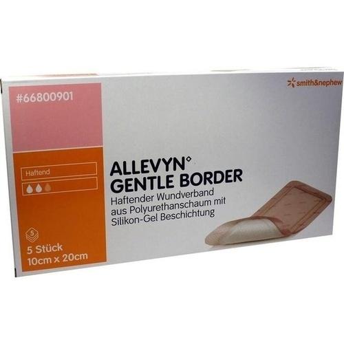 ALLEVYN GENTLE BORDER 10x20cm, 5 ST, Smith & Nephew GmbH