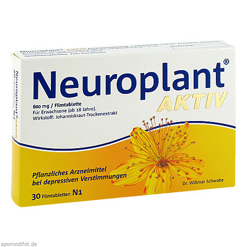Neuroplant Aktiv, 30 ST, Dr.Willmar Schwabe GmbH & Co. KG