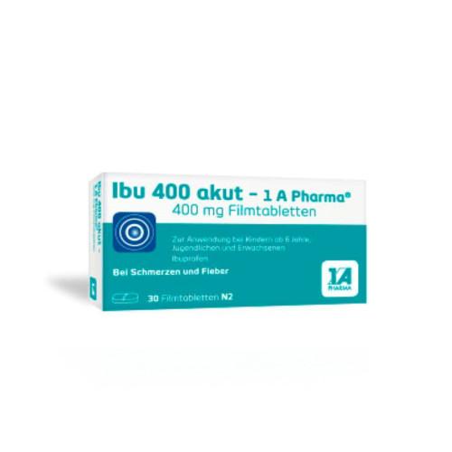 Ibu 400 akut - 1A-Pharma, 30 ST, 1 A Pharma GmbH