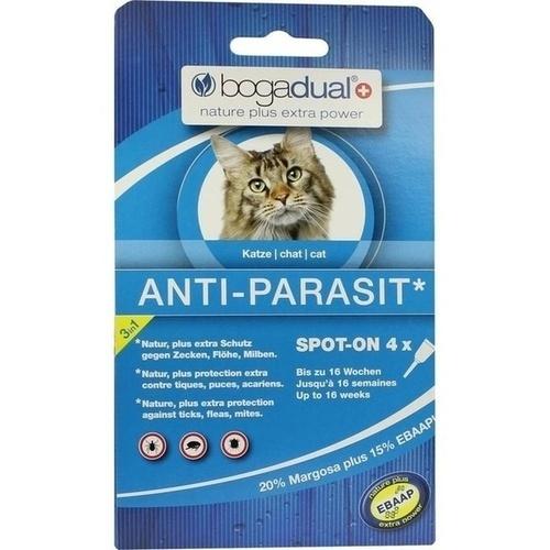 bogadual ANTI-PARASIT Spot-On Katze, 4X0.75 ML, Werner Schmidt Pharma GmbH