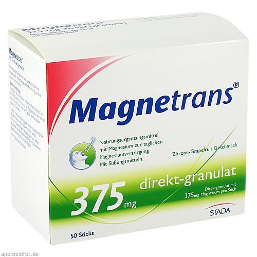 Magnetrans direkt 375mg, 50 ST, STADA GmbH