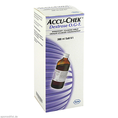 Accu-Chek Dextrose O.G-T., 300 ML, Roche Diabetes Care Deutschland GmbH