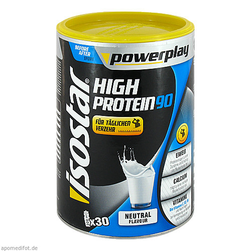 Isostar Powerplay High Protein 90 Neutral, 750 G, GENUPORT TRADE GmbH