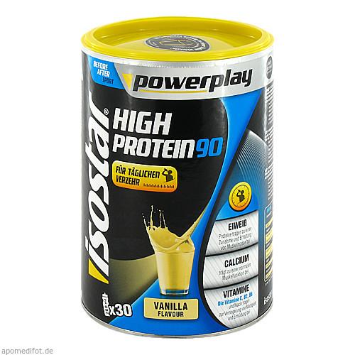Isostar Powerplay High Protein 90 Vanille, 750 G, GENUPORT TRADE GmbH