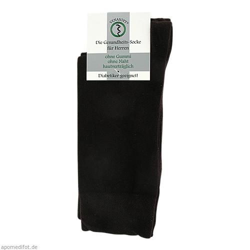 VENASOFT Class Diabet Socken o.Gummi He braun47/50, 4 ST, Groß- U. Einzelhandel Strumpfvertrieb Himmel E.K.