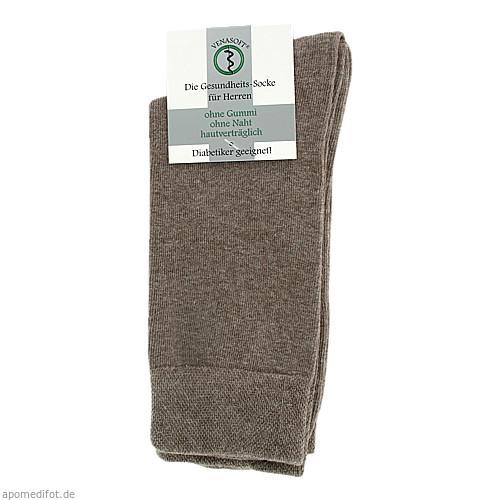 VENASOFT Class Diabet Socken o.Gummi He beige47/50, 4 ST, Groß- U. Einzelhandel Strumpfvertrieb Himmel E.K.