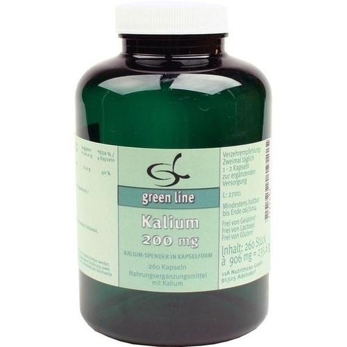 Kalium 200mg, 260 ST, 11 A Nutritheke GmbH