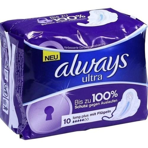 Always Ultra Long Plus, 10 ST, Wick Pharma / Procter & Gamble GmbH